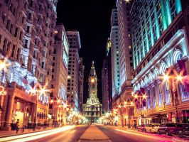Philly lights by boldsoul