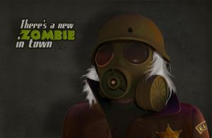 There's a new zombie in town by Wishii