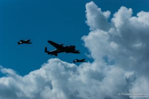 Battle of Britain Memorial Flight by TPJerematic