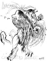 Gryphon_ by AugustAnna