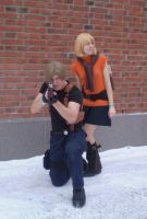 Resident evil 4 cosplay photoshoot by Kansuli