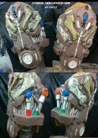 Cyberlord Upper Arm DETAILS by Uratz-Studios