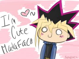 Yugi is cute MADAFACA XD by Kamylove