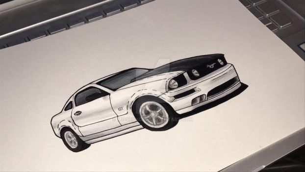 Mustang GT by MissSpacey