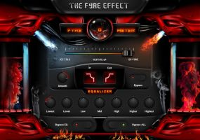 Fyre-o-meter FL Studio Interface by Benjamin-Dandic