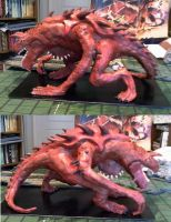The Tarrasque by geeksquared