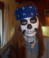 Axl Rose...skeleton? Trick Or Treat by mistyquewhitesnake
