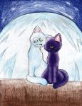 Luna and Artemis by ladyz0e