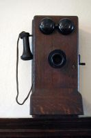 Old phone by LucieG-Stock