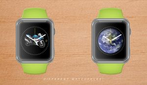 Different Watchfaces! Applewatch by Daniel2506