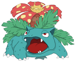 Personnages Libres : 003 Venusaur by Mechamyu