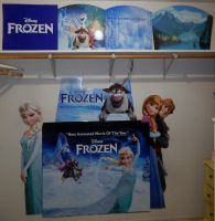 My Frozen Collection  -Closet Wall 2- by kikyo4ever