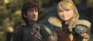 Hiccup x Astrid Teenage Love by lilgerndt