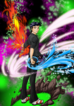 Master of the Elements by Dodo-Windam