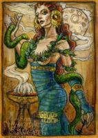 Goddess of Witches by BohemianWeasel