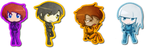 RvB Chibi Batch by CaptainTimber