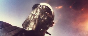Crack a Smile - Leather Motorcycle Mask - Demo by Panelrodder