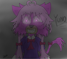 Tablet drawing. Eeee e.e by YunoGasaiCat