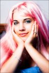 Pink hair - 3 by colorful-beauties