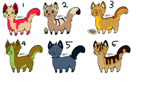 Food Kitty Point Adoptables -OPEN- by Meepalso