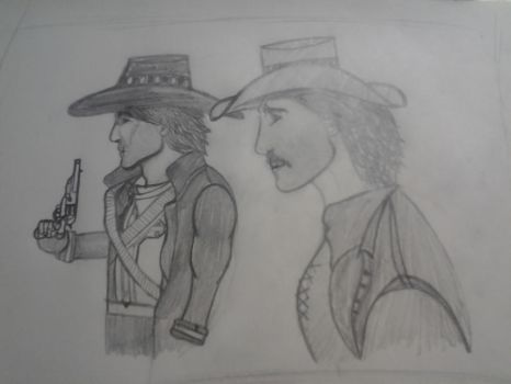 Call of Juarez: McCall brothers by warriorjane12