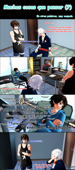 [MMD] Too many things to think about... by Emo-sanX