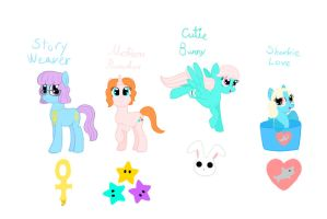 Our Little Ponies by Poppun