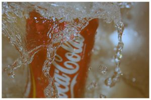 cola splash by Healzo