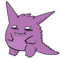 Gengar Came Plz by RAWr-its-ASH