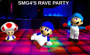 SuperMarioGlitchy4's Rave Party! by Geoffman275