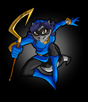 sly cooper by rotten-jelly-babie