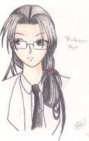Young Professor Hojo by galassiel