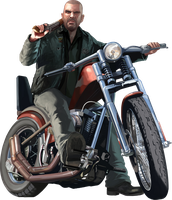 GTA IV - Johnny Klebitz Render by narDii