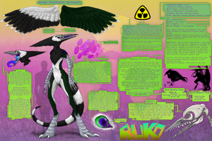 Ruko's Massive Reference Sheet by RadioactiveBirds