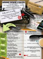 The desktop resume by arianedenise