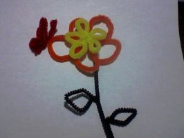 Pipe Cleaner Art 1 by the-shmegster