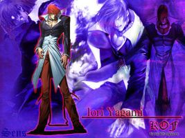 King of fighters-Iori yagami by sens333