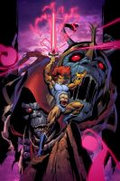 Lion-O, Lord Of The ThunderCats. by Axel-Gimenez