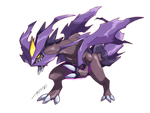 Kyurem Ghost Type by Tomycase