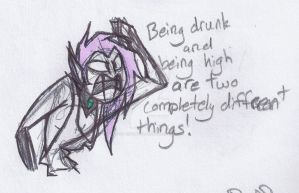 Pines Go Home, You're Drunk by CancerousVirgo