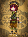 Chara [Steampunk Version] UnderSteam by Jany-chan17