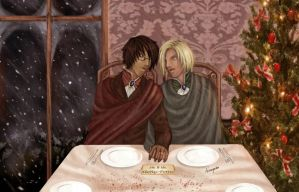 Christmas with Harry and Draco by Isi-Angelwings