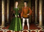 King Fernando V and Queen Isabel I by MoonMaiden37