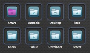 Flurry Folder Icons for Mac by donalyza