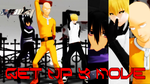 [MMD60fps] One Punch Man - Get Up and Move [DL] by TKGhoul-NaruSaku