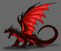 HTTYD-Murderous Dragon by Scatha-the-Worm