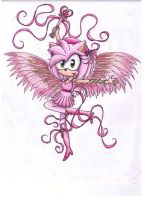 Amy Rose the Love Angel by puppyloverlani
