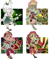 Mystery Plant Adopts [CLOSED] by caitiecat-adopts
