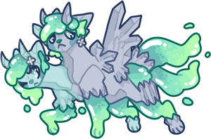 Lord of the slimes. by cinnabutt