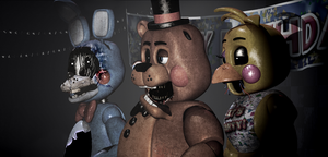 FNAF [Toys Withered-In Stage] by Christian2099